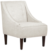 Skyline Furniture Swoop Tuxedo Button Armchair