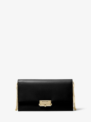 MICHAEL Michael Kors Cece Large Leather Convertible Crossbody Bag