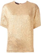 Rochas metallic shortsleeved T-shirt