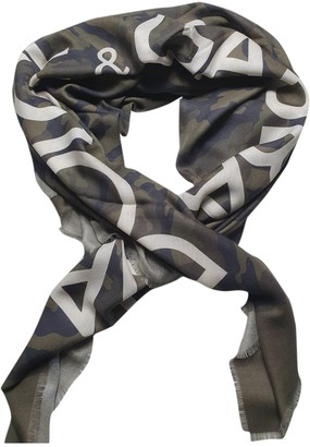 Dolce & Gabbana Green Cashmere Scarves & pocket squares