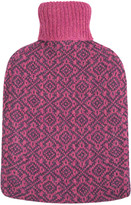 A by Amara - Oakhurst Cashmere Hot Water Bottle - Wildberry