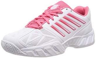 K-Swiss Performance Bigshot Light 3, Women's Tennis Tennis Shoes, Black (Plum Kitten/Coral Almond 095-M), (39 EU)
