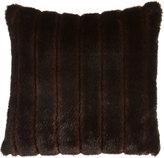 """Dian Austin Couture Home Faux-Mink Pillow, 20""""Sq."""