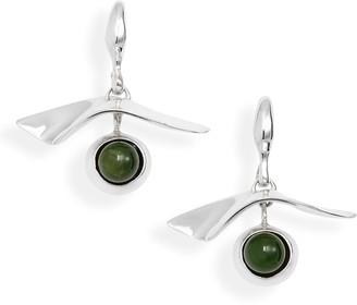 FARIS Gaze Semiprecious Stone Drop Earrings