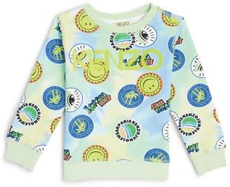 Kenzo Kids Tie-Dye Graphic Print Sweatshirt (2-10 Years)