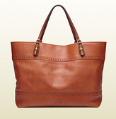 Gucci Laidback Crafty Leather Tote