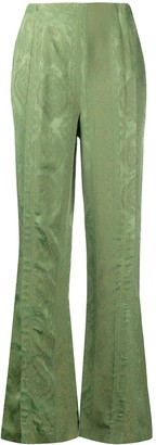 Acne Studios flared trousers