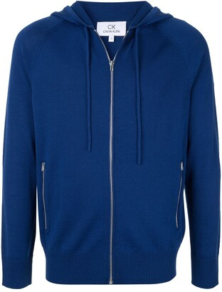 CK Calvin Klein knitted zip hoodie