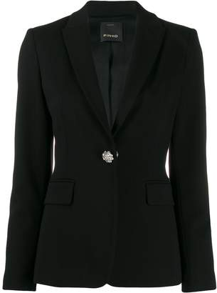 Pinko single-breasted fitted blazer