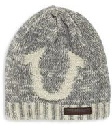 True Religion Wool Blend Knit Hat