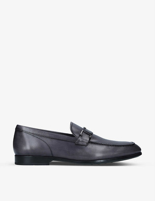 Tod's T-embellished leather loafers