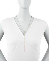 Jennifer Zeuner Jewelry Love Lariat Necklace