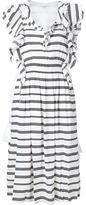 Apiece Apart 'San Rafael' ruffle dress - women - Silk/Cotton/Linen/Flax - 2