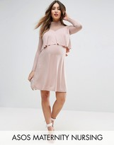 ASOS Maternity - Nursing ASOS Maternity NURSING Victoriana Mesh Dress