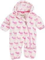 Hatley Fuzzy Fleece Bundler (Baby) - Soft Deer-12-18 Months