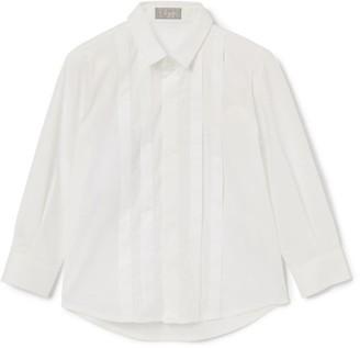 Il Gufo Pleat-Front Dress Shirt (3-12 Years)
