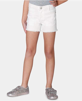 Epic Threads Little Girls Frayed-Hem Denim Shorts