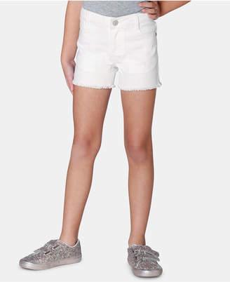 Epic Threads Toddler Girls Frayed-Hem Denim Shorts