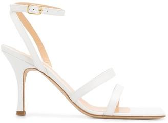 A.W.A.K.E. Mode Rebecca 105mm square toe sandals