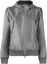 Herno hooded reversible jacket - women - Polyamide/Polyester/Spandex/Elastane - 42