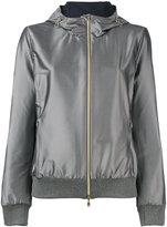 Herno hooded reversible jacket - women - Polyamide/Polyester/Spandex/Elastane - 44