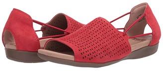 Earth Alder Abra (Black Suede) Women's Sandals