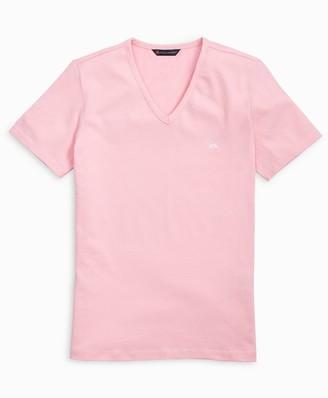 Brooks Brothers Stretch Cotton Jersey V-Neck T-Shirt