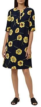 Hobbs London Faye Floral Print Shift Dress