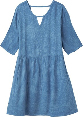 RVCA Women's Out of Town Babydoll Dress