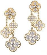 Jarin K Jewelry - Fringed Clover Earrings