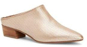 Aquatalia Fife Mini Embossed Leather Mules