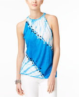 INC International Concepts Embellished Halter Top, Created for Macy's