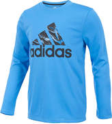 adidas ClimaLite Logo Graphic-Print Shirt, Little Boys