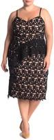 City Chic Illustrious Lace Dress (Plus Size)