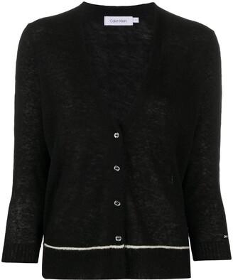Calvin Klein Fine Knit Cardigan