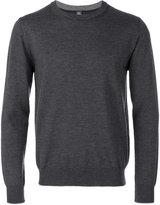 Eleventy round neck plain sweatshirt