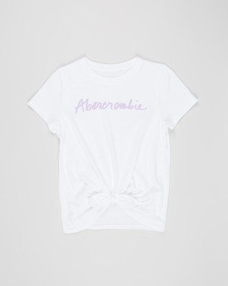 Abercrombie & Fitch Tie Front Tee - Kids-Teens