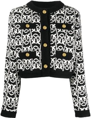 Pinko Cropped Tweed Jacket