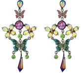 Betsey Johnson Colorful Butterfly Chandelier Earrings Earring