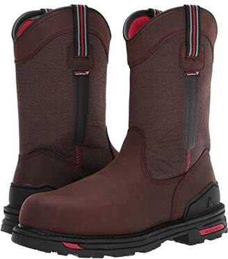 Rocky RXT Comp Toe Non-Metallic 11 Pull-On Boot (Dark Brown) Men's Shoes