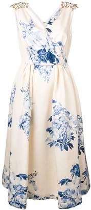 Antonio Marras embellished shoulder gown