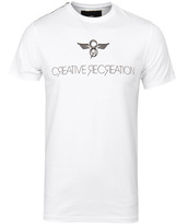 Creative Recreation Avalon White Crew Neck T-shirt