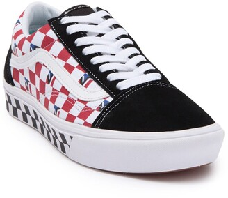Vans ComfyCush Old Skool Dimension Check Lace-Up Sneaker