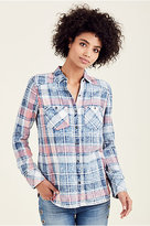 True Religion Relaxed Womens Button Up