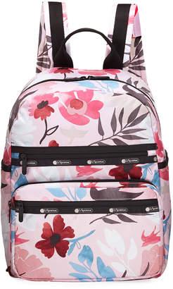Le Sport Sac Monroe Floral Nylon Backpack