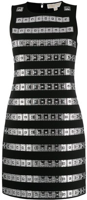 MICHAEL Michael Kors Panelled Shift Mini Dress