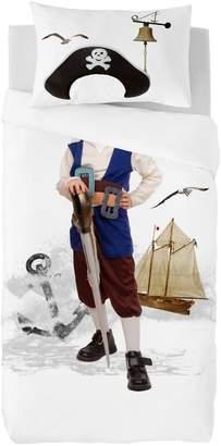 Gouchee Design Two-Piece Pirate Print Duvet Cover Set