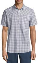 Columbia Short Sleeve Plaid Button-Front Shirt