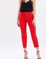 Dorothy Perkins Tapered Belt Trousers