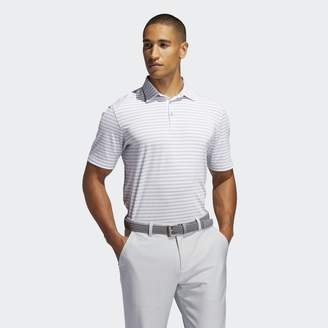 adidas Adipure Essential Stripe Polo Shirt